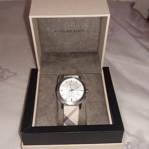 Burberry watch men